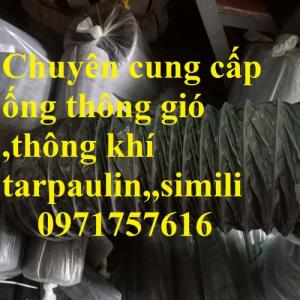 Giá bán ống gió tarpaulin chính hãng