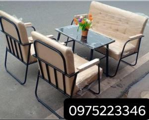 Sofa sắt mỹ nghệ mẫu mới hàng cao cấp giá siêu rẻ