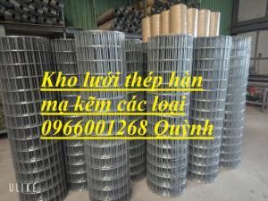 Chuyên sản suất lưới thép hàn,lưới mạ kẽm dây 2ly,2.5ly,3ly,4ly