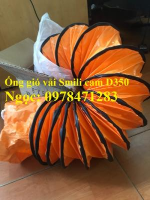 Tổng đại lý ống gió vải Simili cam D200, D250, D300, D350, D400 hàng có sẵn