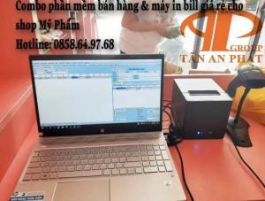 Ư vấn máy in bill & phần mềm bán hàng cho shop Mỹ Phẩm tại BMT