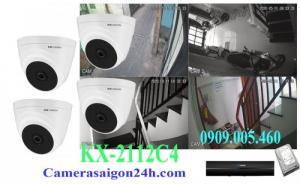 Camera quan sát thương hiệu Mĩ, gói 4 camera