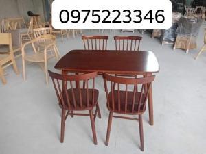 Bàn ghế cafe gỗ sơn P,U..