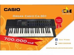 Organ Casio CA301 likenew 90%