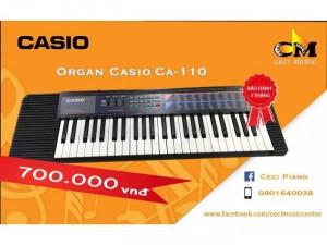 Organ Casio CA110 likenew 90%