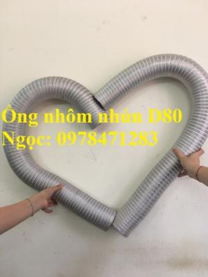 Báo giá ống nhôm nhún, ống nhôm định hình D80, D100, D120, D150, D200, D300.
