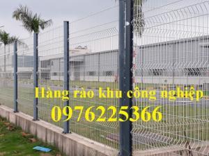 Hàng rào lưới thép hàn, hàng rào mạ kẽm nhúng nóng, hàng rào sơn tĩnh điện