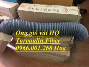 Nhà sản xuất ống gió mềm vải Tarpaulin Hàn Quốc D100,D125,D150,D200,D250,D300