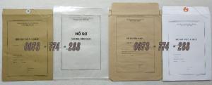In ấn sản xuất các loại hồ sơ lý lịch cán bộ công chức, các loại hồ sơ viên chức mẫu mã dùng cho toàn quốc