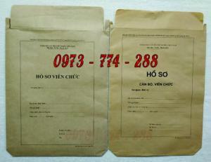 Bán túi đựng hồ sơ viên chức