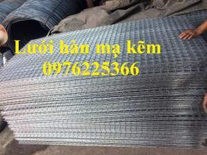 Lưới thép hàn mạ kẽm D2, D3, D4 giá tốt tại Hà Nội