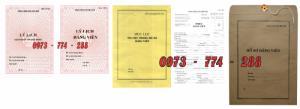 Bộ hồ sơ Đảng viên đầy đủ