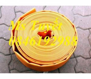 Ống bạt nhựa PVC màu vàng hút cát phi 65 có sẵn hàng