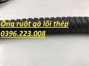 Bảng giá ống ruột gà lõi thép bọc nhựa phi 16(1/2) hàng có sẵn tại kho