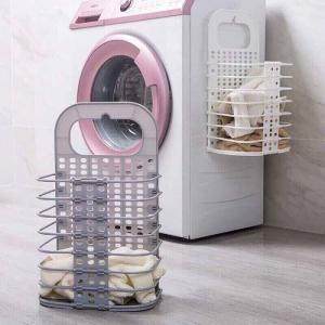 2020-06-05 18:35:37  13 Kệ treo đa năng, có thể gấp gọn: 110k/cái   -  treo cạnh máy giặt/phòng tắm/bếp -  nhựa PP an toàn, kèm móc dán. Đồ gia dụng cực cute 110,000