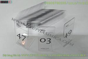 2020-06-05 21:18:26  1  Chúng tôi chuyên làm Thẻ số bàn dáng chữ L, Thẻ số bàn dáng chữ A 1,000