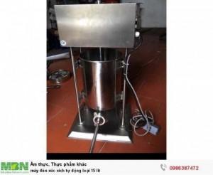 Máy đùn xúc xích tự động loại 15 lit