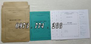 Hồ sơ viên chức mẫu HS01, HS02, HS03, HS04, HS05, HS06, HS09 -VC/BNV