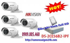 Trọn gói camera quan sát thương hiệu HIKVISION