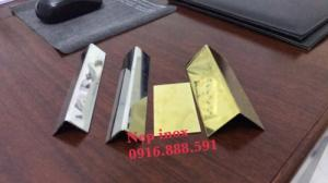 Nẹp Inox 304 Chữ V - Nẹp V Inox Trang Trí - Nẹp V Bảo Vệ Góc