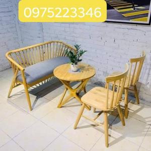 Chuyên sản xuất bàn ghế..sofa gỗ bọc nệm với giá rẻ