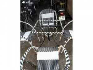 Bàn ghế nhựa giả mây chuyên sản xuất tại xưởng khách có nhu cầu xin lh mình16