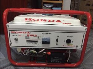 Máy phát điện dùng cho gia đình chạy xăng honda SH4500EX 3kw