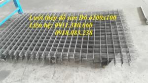 Lưới thép hàn D6 ô 100x100 hàng đen dạng tấm giá tốt nhất
