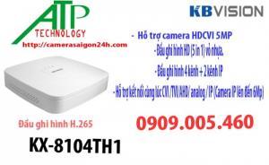 Đầu ghi hình kĩ thuật số 4 kênh h.265