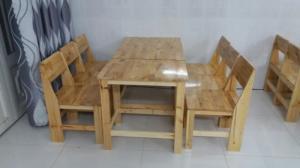 Bàn ghế gỗ cóc cần bán gấp..