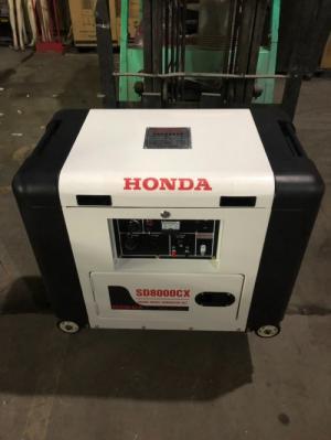 Nơi bán máy phát điện chạy dầu 6kw honda SD8000EC