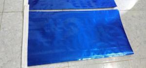 Bao PP dệt ghép màng metalize xanh dương đựng 10kg, 20kg