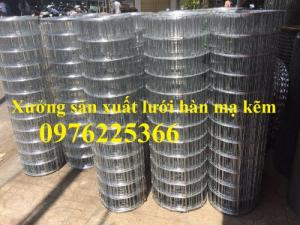 Tấm lưới thép hàn mạ kẽm D3, D4 sản xuất theo yêu cầu