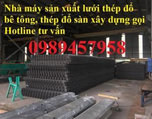 Lưới thép đổ sàn A4, A6, A8 ô 100x100, 150x150 và 200x200 giá rẻ