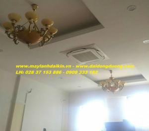 Máy Lạnh Âm Trần Daikin FCNQ30MV1/RNQ30MV1-Gas R410a Siêu tiết kiệm điện