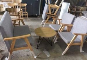 Bàn ghế sopa sản xuất tại xưởng khách có nhu cầu xin lh mình nha,09