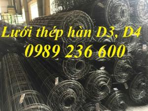 Lưới thép hàn D4a50x50, D4a100x100, D4a150x150, D4a200x200
