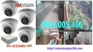 Camera quan sát HD-CVI 2.0 thương hiệu HIKVISION