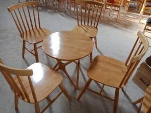 Bàn ghế 7 Xong gỗ tự nhiên
