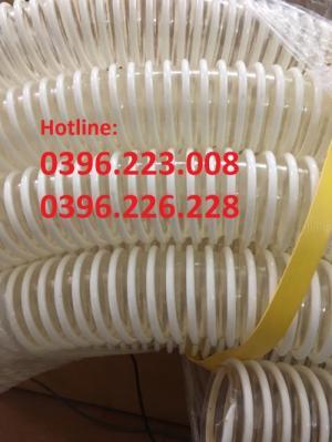 Phi 200, phi 150, phi 120 ống cổ trâu gân nhựa xanh trắng giá rẻ tại Hà Nội