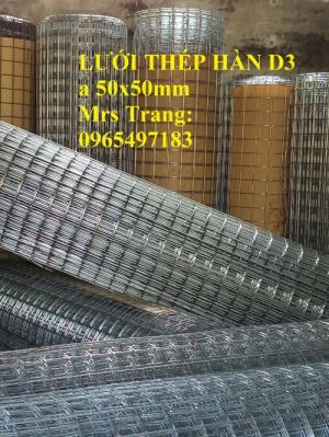Lưới thép hàn D3 a 50X50 Khổ 1m, 1.2m, 1.5m. hàng có sẵn tại kho hà nội