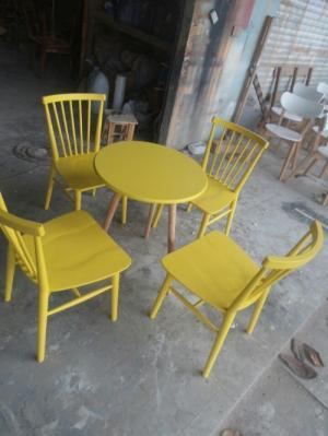 Ghế gỗ 7 SONG nhiều màu thích hợp với mọi không gian