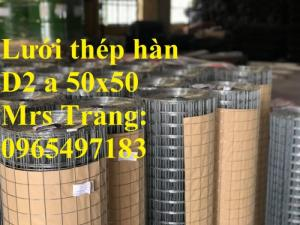 Lưới Thép Hàn D2 A 50X50 Khổ 1Mx30M, 1.2Mx30M. Hàng Có Sẵn Số Lượng Lớn
