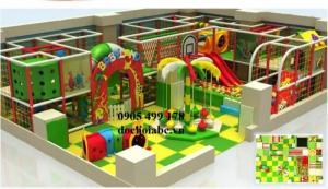 Thi công thiết kế khu vui chơi trẻ em trong nhà và ngoài trời chất lượng cao