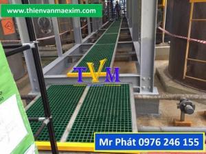 Cung cấp sàn frp grating - tấm sàn ô lưới sợi thủy tinh