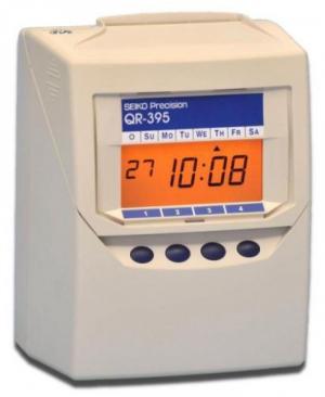 Máy chấm công thẻ giấy Seiko QR 395 - Bán giá rẻ  nhất