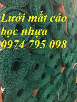 Lưới mắt cáo bọc nhựa mắt lưới 25x25mm hàng có sẵn tại Hà Nội