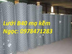 Lưới B40 được sử dụng rộng rãi trong các ngành xây dựng, giao thông, nông lâm
