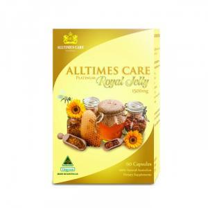 Thực phẩm bảo vệ sức khỏe sữa ong chúa Alltimes Care 60 viên