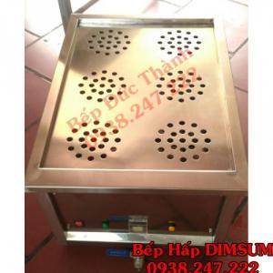 Bếp hấp dimsum 6 lỗ inox nhỏ gọn